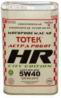 Тотек Астра Робот HR 5W40 City Edition
